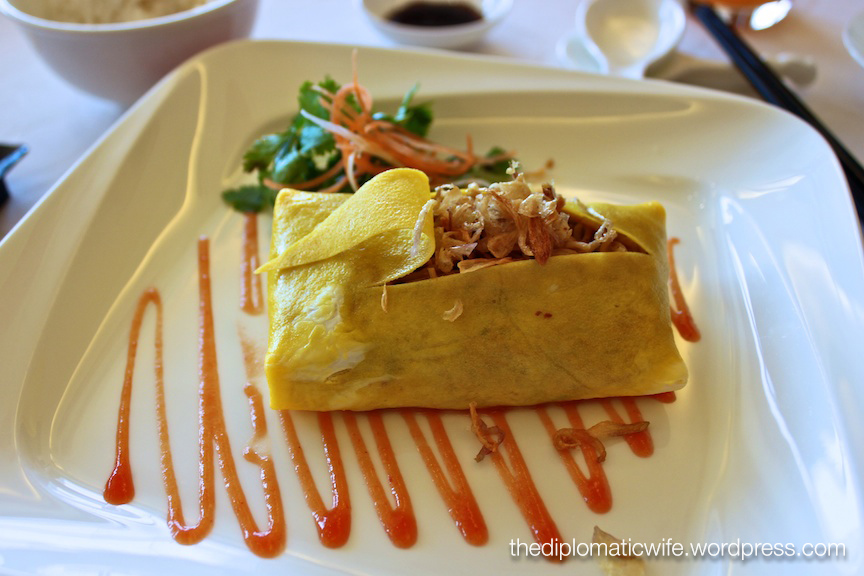 7-course lunch after chinese cooking class at JW Marriott