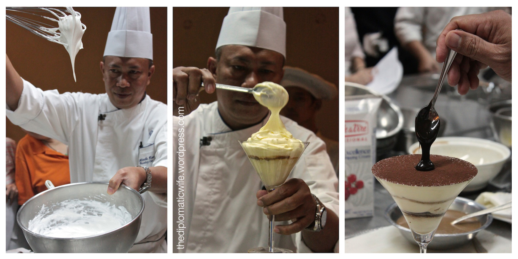 Creamy Baileys Tiramisu at the Ritz Carlton Italian vs Pastry Cooking Class
