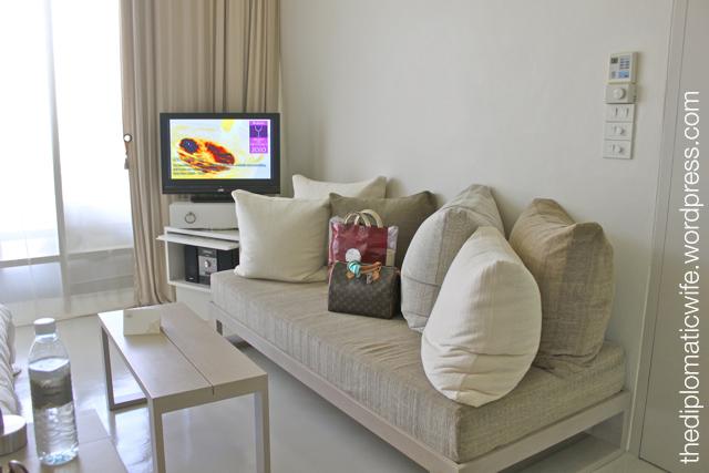 Sala Phuket Resort Deluxe Balcony - couch