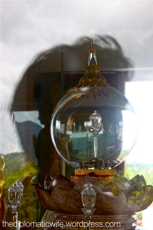 Phra Borom Sareerikatat relic, a piece of the Lord Buddha's bones