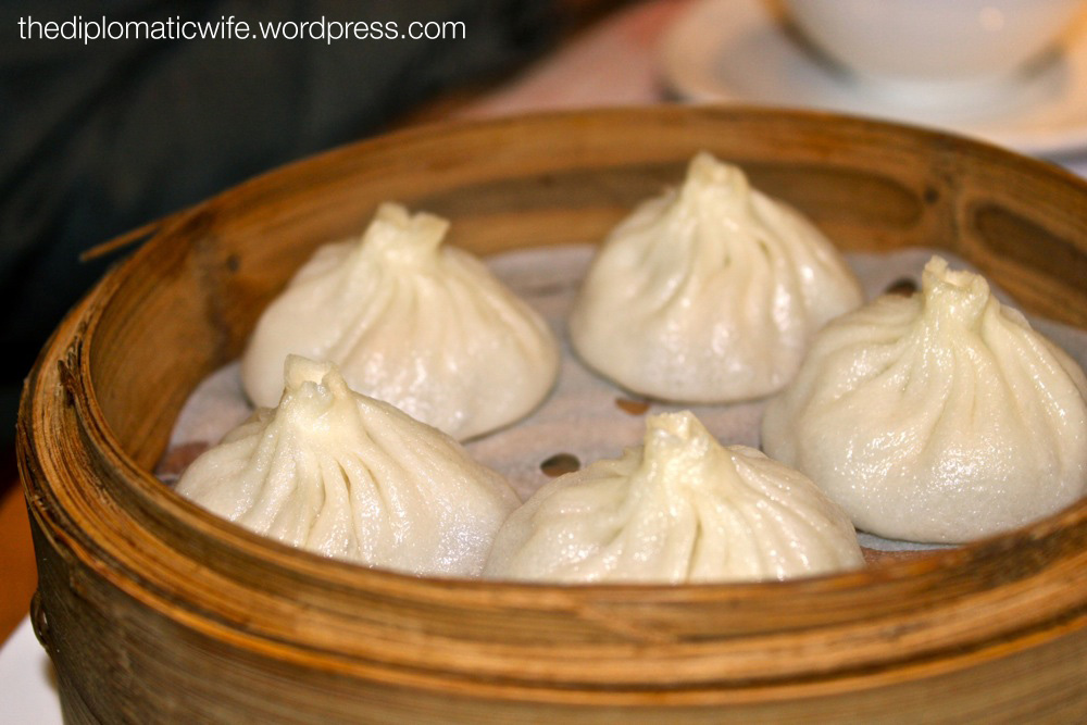 "Crystal Jade Tim Xiao Long Bao Ayam ala ""Shanghai"" or Steamy Soupy Chicken Dumpling (5pcs for Rp 22,000)"