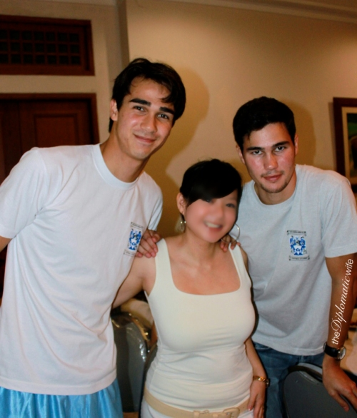 Azkals/Philippine National Team: James Younghusband and Phil Younghusband