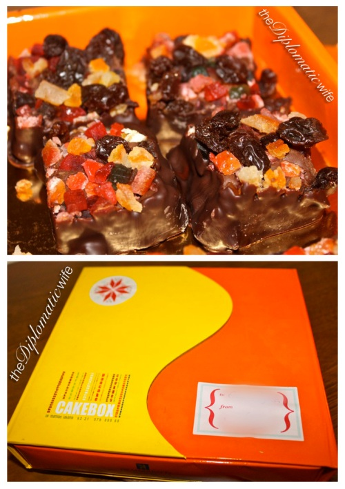 Christmas Fudge from JW Marriot's Cake Box