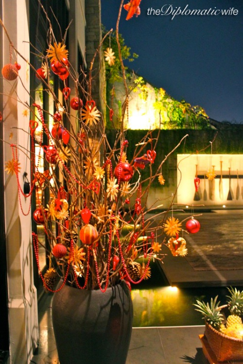 More creative Christmas decor